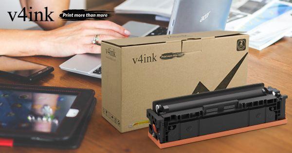 29 99 Hp 201x Cf400x Compatible Black Toner Cartridge High Yield V4ink Canon Laser Printer Toner Cartridge Laser Printer