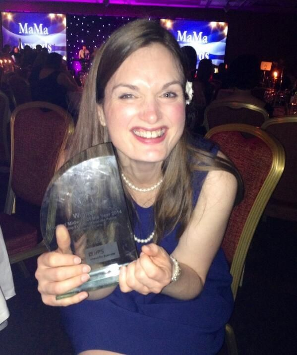 Jude Jones attended the MaMa Conference and Awards Ceremony in Glasgow with her Scholarship Funding - and she also won an award at the ceremony too!