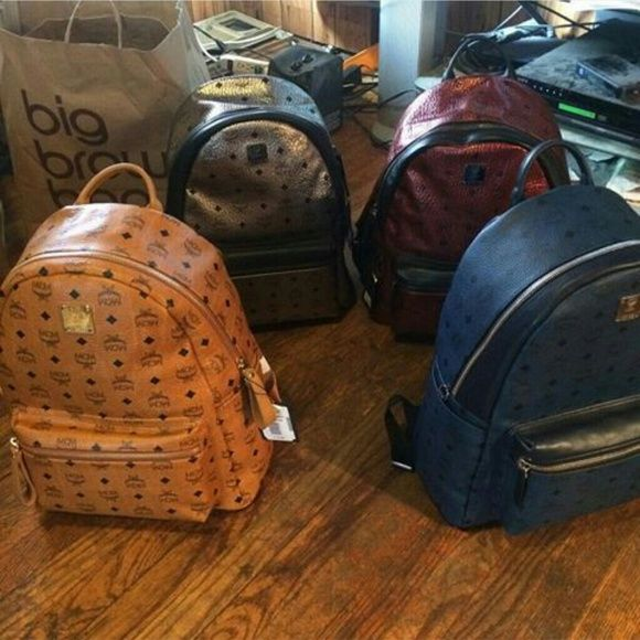 Mcm bookbag Brand new MCM Bags Backpacks