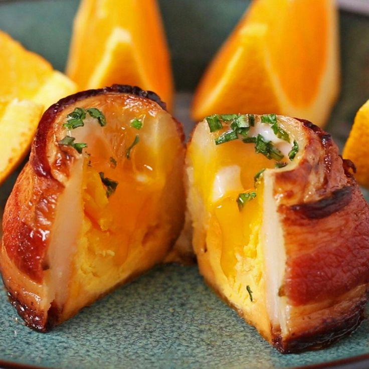 Breakfast Potato Volcanoes Recipe by Tasty