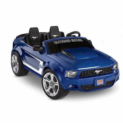 Power Wheels Boss Mustang 12 Volt Ride On - Power Wheels 1022146 - Powered Riding Toys  sc 1 st  Pinterest & 8 best Ride on toys for kids images on Pinterest | Kids toys ... markmcfarlin.com