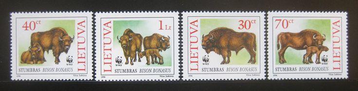 WWF No 191 Lithuania 1996 Bison Bonasus SC 529 32 MNH 0163 | eBay