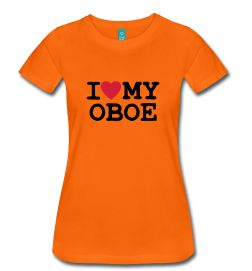 I Love My Oboe W