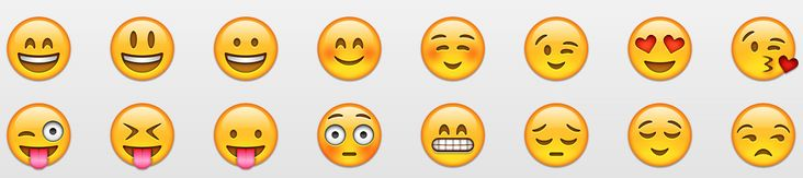 Smiley-Face Symbols Keyboard | Want to use those little emoji smiley face symbols to send friends ...