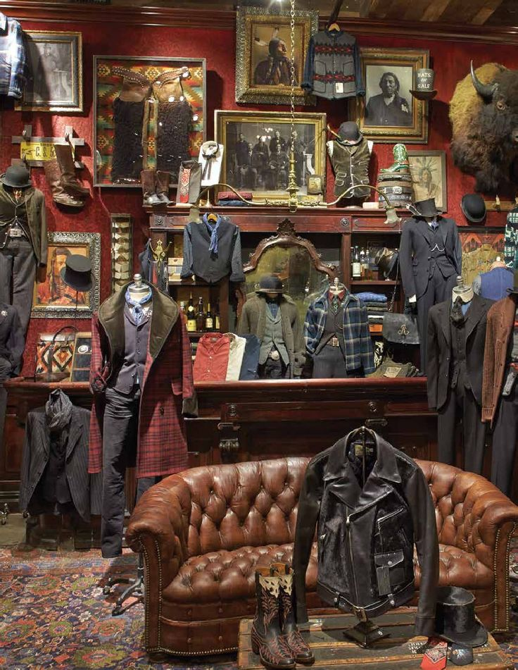RALPH LAUREN RRL HOLIDAY 2014. Incorporate outfits w walls
