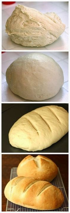Simple One Hour Homemade Bread Recipe ~ The bread itself is soft and moist with just a bit of chew.  It makes great sandwich bread, wonderful toast, and is just as good eaten on its own _ Remind Me Of Panera Bread.