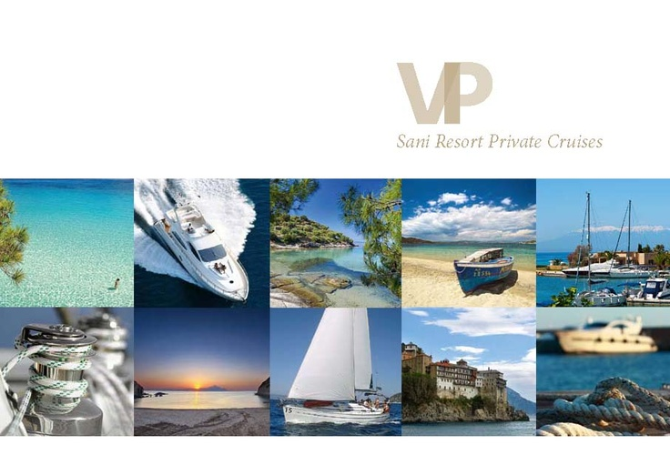 Sani VIP Services, Boat Chartering Flyer. Location: Halkidiki, Greece.  To read this brochure please click here http://issuu.com/sani_resort/docs/sr_vip_boatcharteringflyer_2012