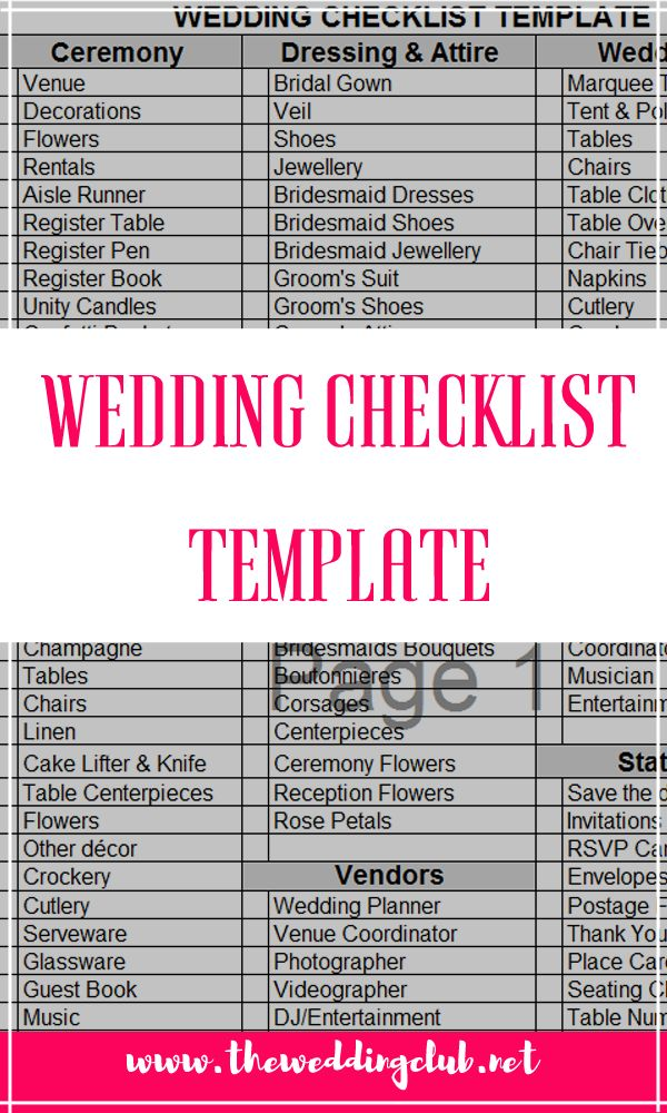 wedding checklist template, The complete guide to wedding binder printables, a guide to wedding binders, wedding planning, planner printables, wedding checklists, wedding to do lists, list of duties. Includes a free checklist template!
