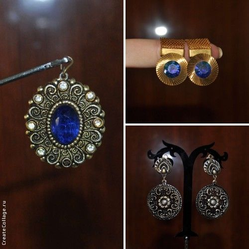 Description: We are pleased to offer here Awesome delicate 3 Vintage Cufflinks, clips and pendant from the LAST CENTURY Soviet Russian USSR. This set - decoration that adds flavor to your image.  Great, magic gift from the last century! No cleaning. A condition on a photo. Look at the original photos! You receive what you see.  This Set is only the original.  Do not copy or fake.  Made in the USSR 1950-70 period.
