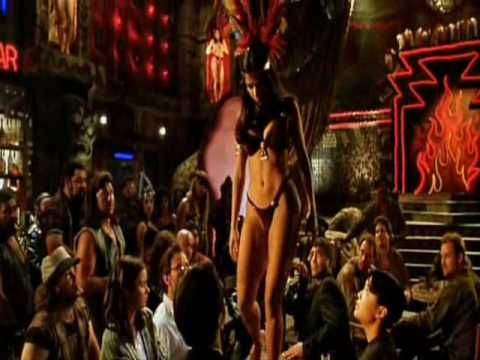 "Quentin Jerome Tarantino appeared in and wrote the script for Robert Rodriguez's From Dusk till Dawn. The film sucked but this part: Wow....Salma Hayek table dance in the Titty Twister Bar...George Clooney, Harvey Keitel, Juliette Lewis........SEXY. Best part of the movie. On guitar Humberto ""Tito"" Larriva is a Mexican/American song writer, singer, musician, and actor of ""Tito & Tarantula""."