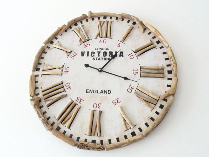 Les 25 meilleures id es de la cat gorie horloges murales - Horloge murale grande taille ...
