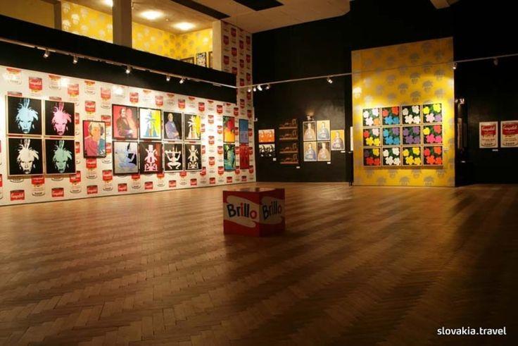Medzilaborce, muzeum Warhola