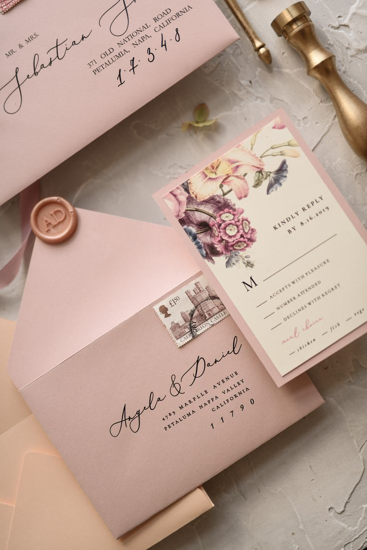 Custom Wedding Invitation Bohemian Stationery 3 Peaches Z In 2020 Cheap Wedding Invitations Wedding Invitations Diy Custom Wedding Invitations
