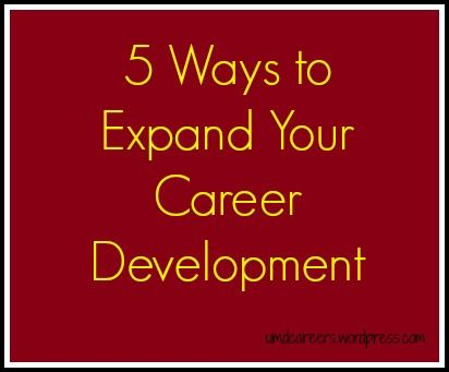 180 best career development images on pinterest career development 5 ways to expand your career development malvernweather Choice Image