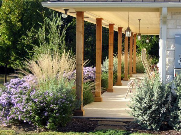 texas landscape plants | Hill Country style home and an all Native Texas landscape. Plants ...