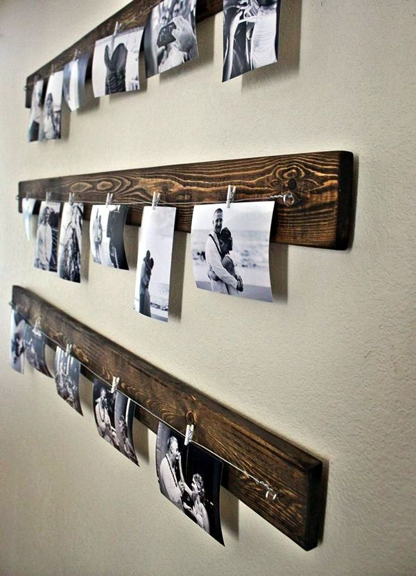 40 Unique Wall Photo Display Ideas For You
