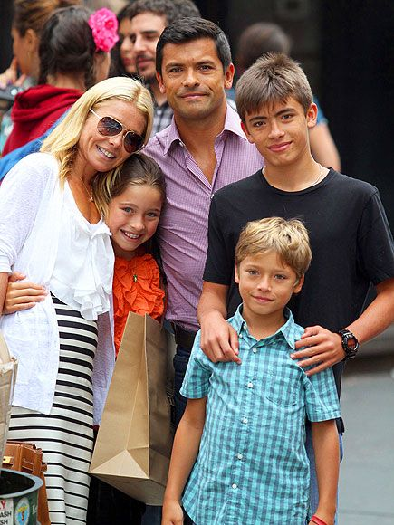 Such a good looking family- those kids are SO CUTE. The youngest boy is the cutest 9 year old I've ever seen.
