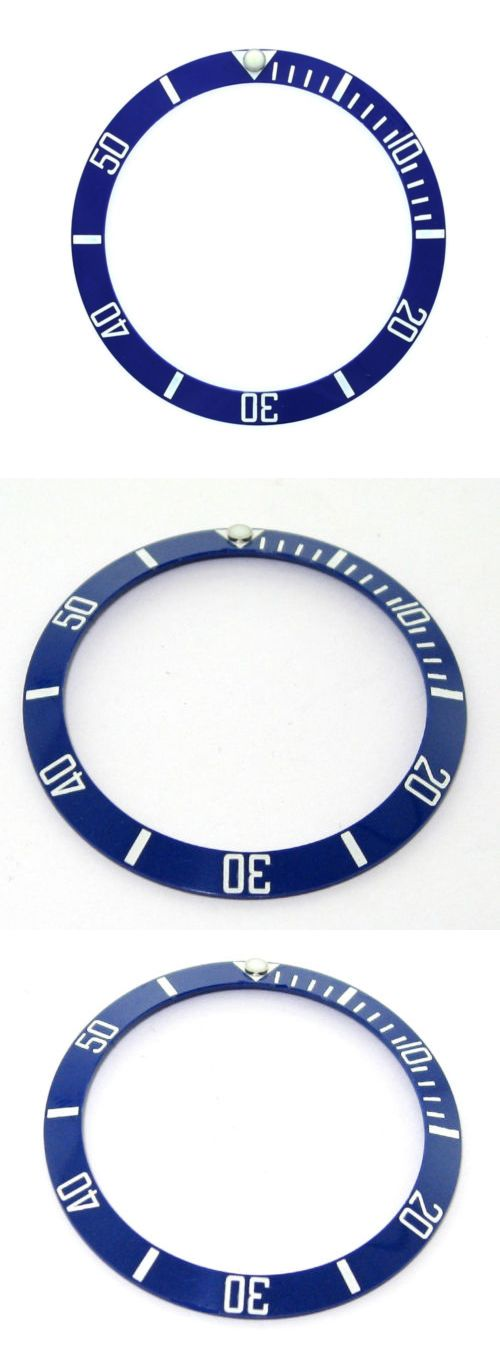 Bezels and Inserts 57714: Bezel Insert Ceramic For 40Mm Invicta 8926Ob Engraved Number Blue Top Quality #1 BUY IT NOW ONLY: $59.9