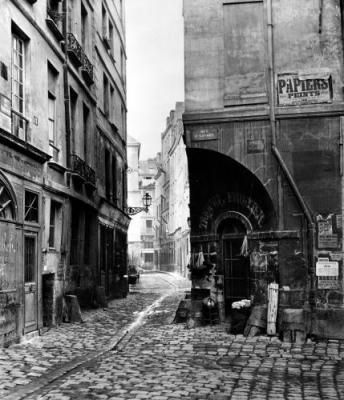 few of Charles Marville's photos here {blog is in French}