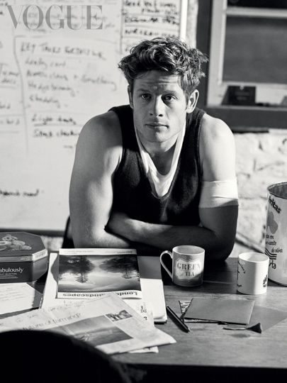 James Norton April Issue of Vogue War and Peace Actor Interview | British Vogue