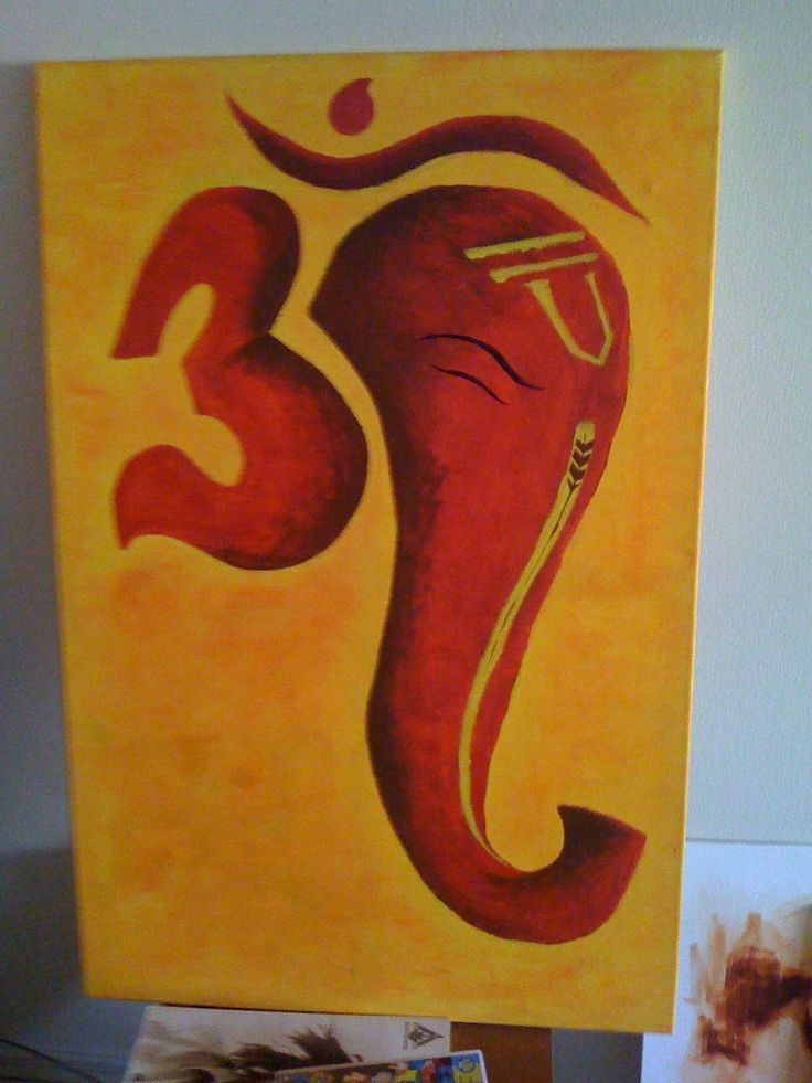 Om Ganesh by *rkuk on deviantART