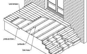 Guide de pose terrasse sur lambourde - Deck linea