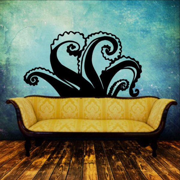 Tentacles Vinyl Wall Decal 22349