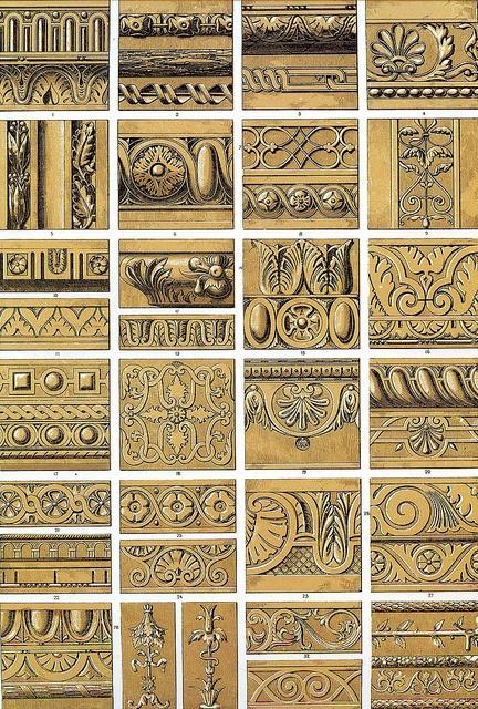 Owen Jones 'Renaissance ornament' 1856 by Design Decoration Craft