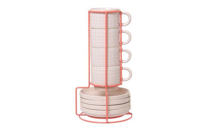 MONOQI | Tower Espressotassen-Set - Present Time