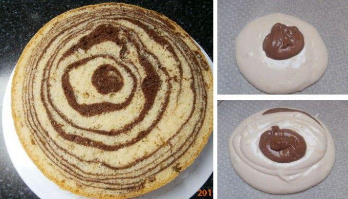 Vynikající mramorový korpus na dorty | NejRecept.cz