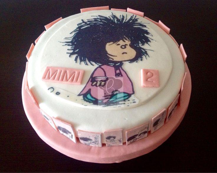 Cake Mafalda despeinada