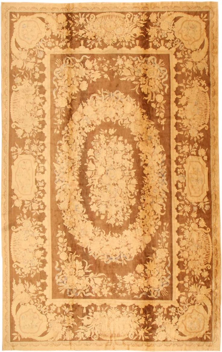 Antique Savonnerie Carpet #871  http://nazmiyalantiquerugs.com/antique-rugs/savonnerie/