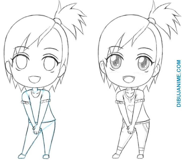 Dibujando Chicas, Dibujando Anime, Dibujos Animes, Dibujos Kawaii, Dibujos Varios, Crapeta De, Como Dibujar Anime Cuerpo, De Primas, Dibujar Cómic