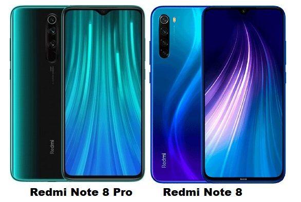 Xiaomi Redmi Note 8 Vs Xiaomi Redmi Note 8 Pro Specs Comparison Camera Aperture Xiaomi Note 8