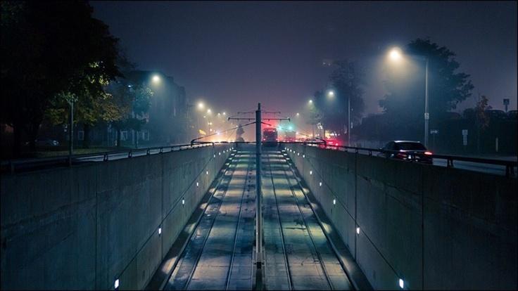 Leuchten: Foggy Night, Posts, Czech Republic, Pier, Photog Phave, Night Stations, Claire West
