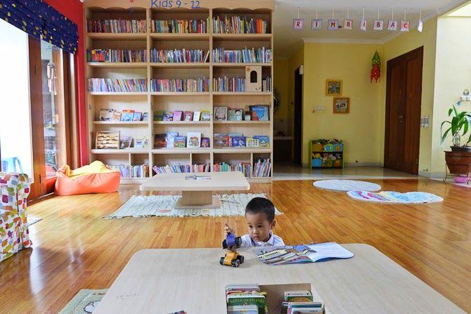 Productive Mamas: RIMBA BACA: PERPUSTAKAAN ANAK