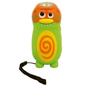 Latarka Geo Kids - stworek zielony
