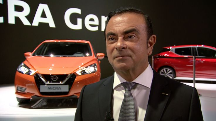 Renault-Nissan CEO Carlos Ghosn on the future of cars  Last week car manufacturers unveiled their latest cars at the Paris Motor Show. Even more interesting these shows are a great opportunity to talk about their vision when it comes to car innovation.  Renault-Nissan is the fourth largest car maker in the world. And yet Tesla seems to be getting more headlines than a company like Renault-Nissan. I got the chance to interview Renault-Nissans CEO Carlos Ghosn to talk about self-driving cars…