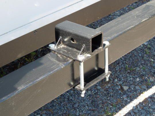 bumper mounted hitch to attach cargo rack | Pop Up Camper Mods ...