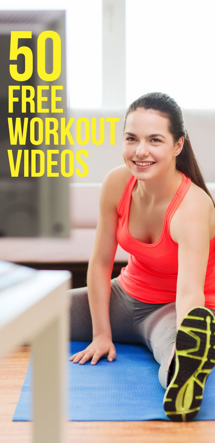 Follow along with these incredible workouts to tone every zone.