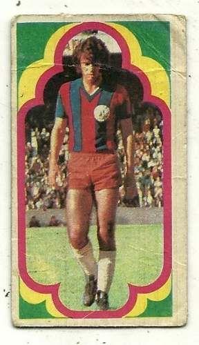 figurita san lorenzo jugadores 1975 futbol olguin n° 64