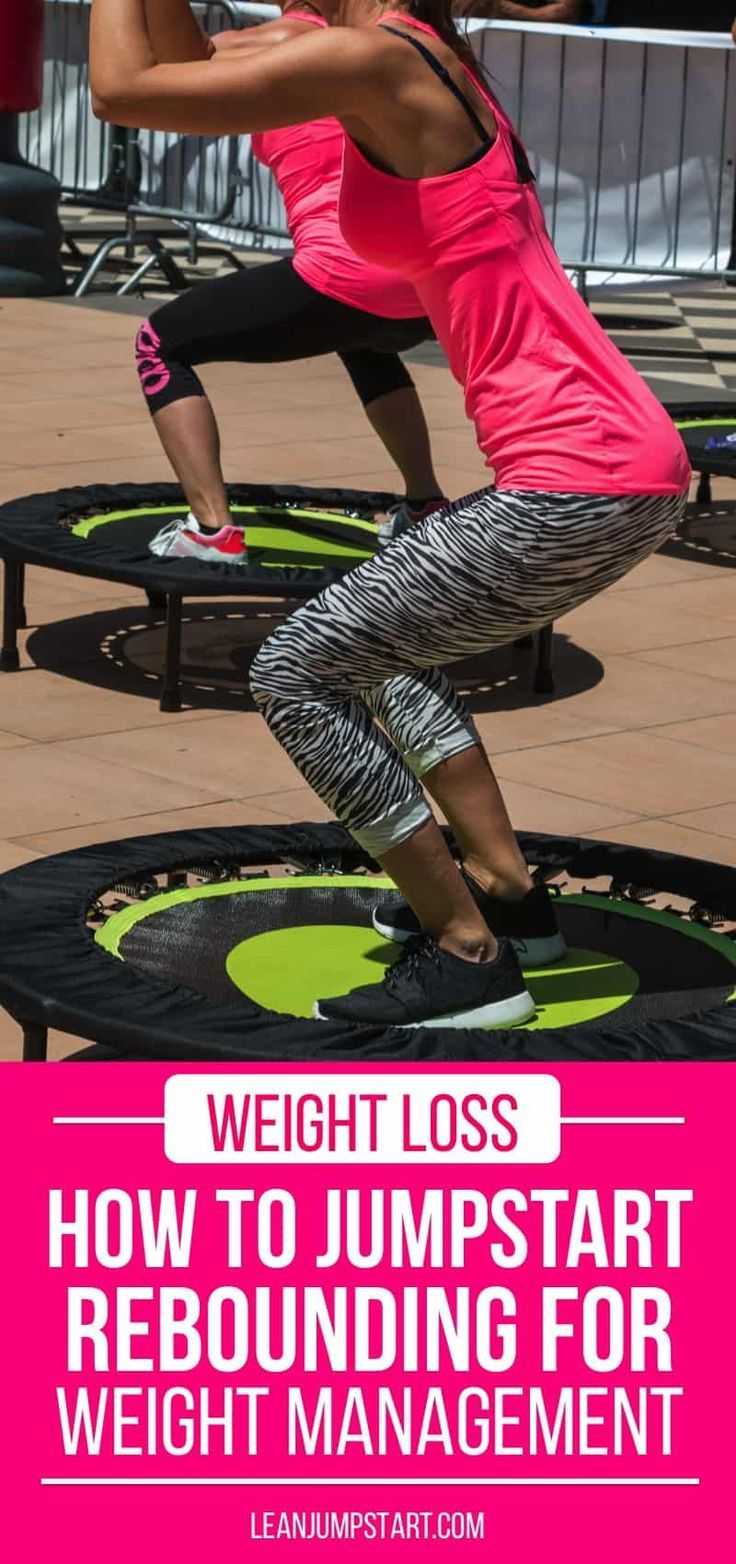 Trampoline Jumping for Weight Loss and Exercise
