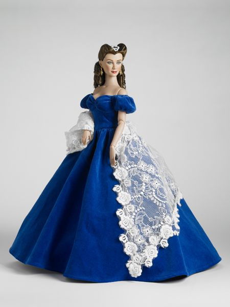 """Gone With The Wind"" - Portrait Dress"