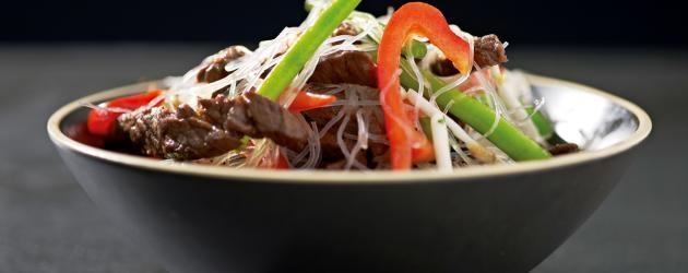 Recept: Nötkött i sötsur chili