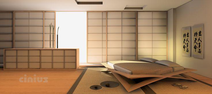 Cinius style élegant et essentiel: vente tatami et futon, cloisons et portes…