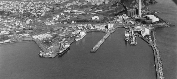 Port Taranaki Founded in 1875
