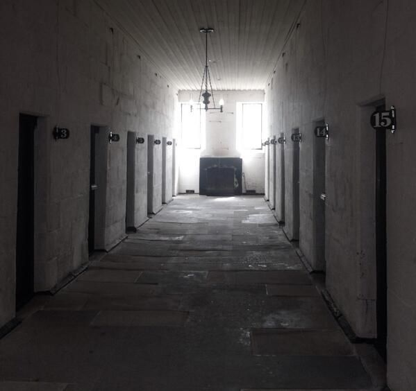 The Separate Prison, Port Authur: a new method of punishment through isolation & contemplation.
