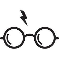 Harry Potter Decals - Harry Potter Glasses - Forever HP - Car Bumper sticker - FREE SHIPPING