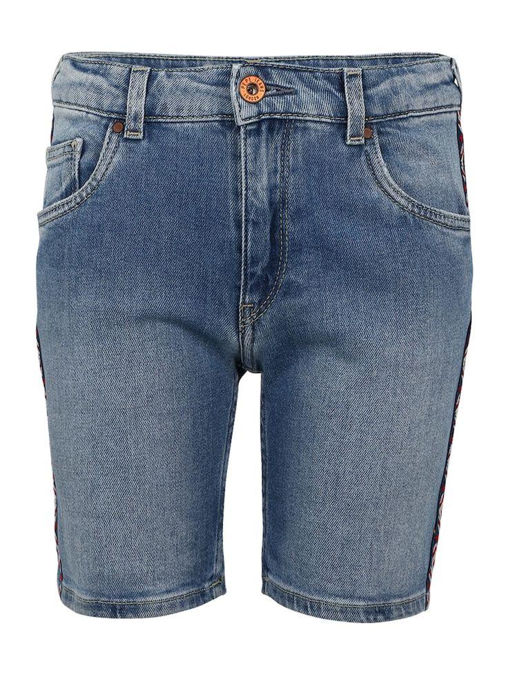 Pepe Jeans-Jeansshorts & # 39; MELANIE ZIG ZAG & # 39; Mädchen, Blue Denim, Größe 170/176   – Products