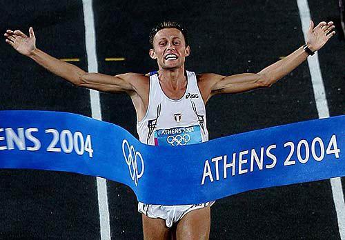 Stefano Baldini-Atene 2004 -ORO:Atletica leggera-Maratona